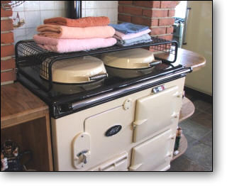 Our Drying Rails Are Made From Top Quality Tubular Steel. We Also  Manufacture Hob Airers, Which Also Fit Other Stoves.